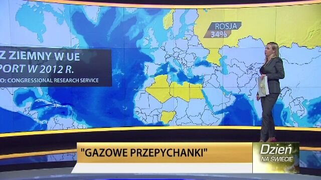 "Europa na ""gazowym"" garnuszku Rosji"