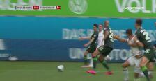 Skrót meczu VfL Wolfsburg - Eintracht Frankfurt w 29. kolejce Bundesligi
