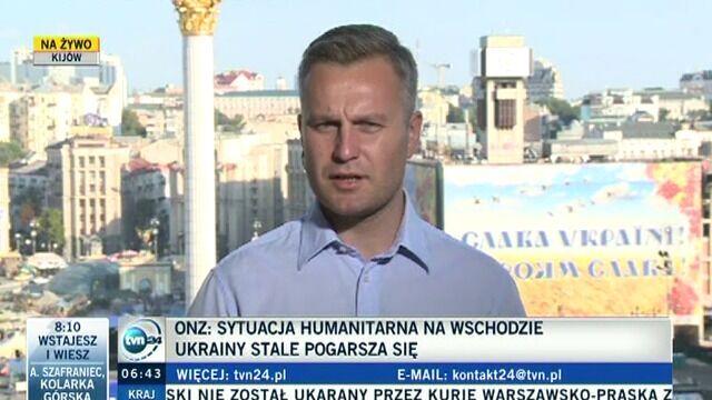 Reporter TVN24 o działaniach rosyjskiej dyplomacji