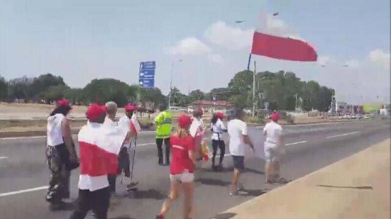 Marsz dla Niepodległej poszedł nawet w Ghanie