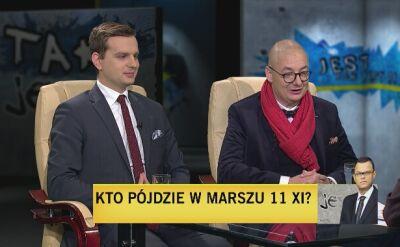Jakub Kulesz i Michał Kamiński w Tak Jest