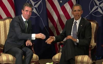 Barack Obama u Andersa Fogha Rasmussena