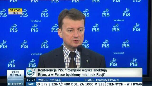 """PiS nie chce Roku Rosji. """"To oszustwo rządzących"""""""
