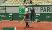 Świątek i Mattek-Sands przełamały w drugim gemie rywalki w ćwierćfinale Roland Garros
