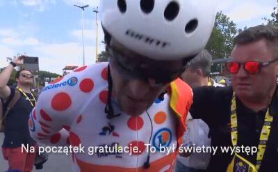 Greg van Avermaet po jeździe drużynowej na czas