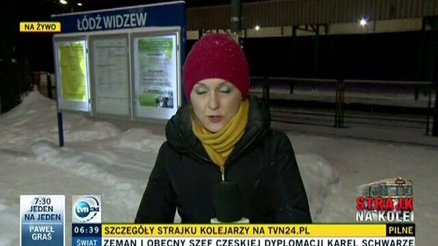 """Z Łodzi odjechał pociąg """"Łodzianin"""" do Warszawy"""