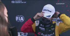 Vervisch po zwycięstwie w wyścigu WTCR