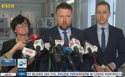 PO składa zawiadomienie w sprawie działań podkomisji smoleńskiej