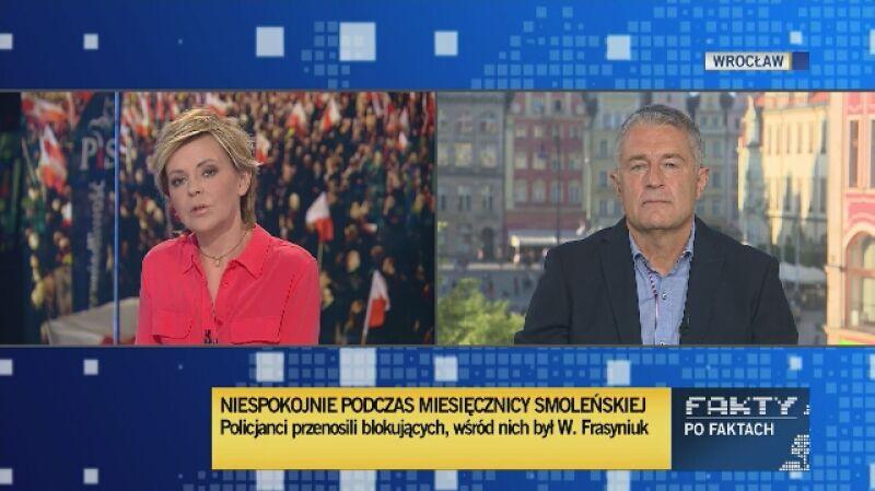 Władysław Frasyniuk: Znam brutalną stronę systemów totalitarnych i znam agresję, która wywołuje agresję