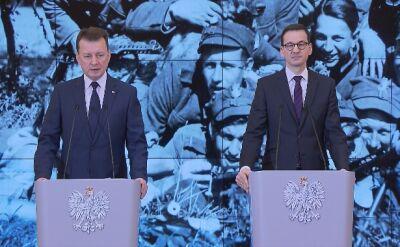 Mariusz Błaszczak o ustawie degradacyjnej