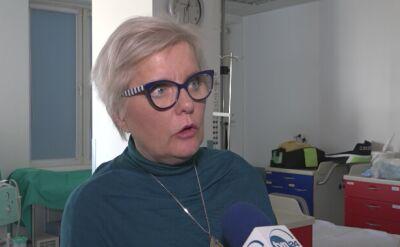 Szpital w Puszczykowie o rannych