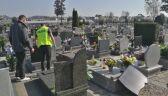 Ktoś zniszczył nagrobki na żmigrodzkim cmentarzu