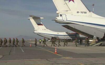 Batalion żandarmów wrócił z Syrii do Rosji