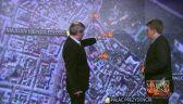 """Mapa starć w Kijowie. """"Najwięcej osób zginęło prawdopodobnie na Instytuckiej"""""""