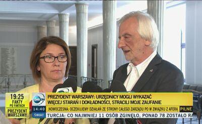 Prezydent Warszawy likwidujeBGN. Politycy komentują decyzję