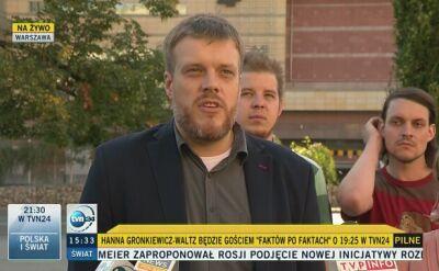 Zandberg (Razem): Hanna Gronkiewicz-Waltz powinna odejść