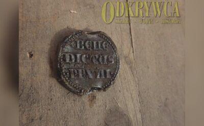 Bulla papieska odnaleziona podczas prac archeologicznych na Zamku Grodno