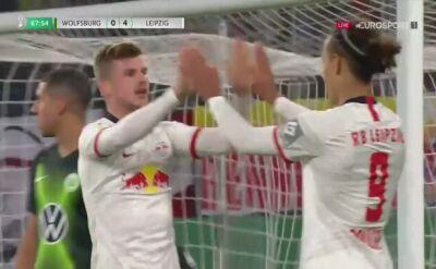 Wolfsburg na łopatkach, piąty gol Lipska