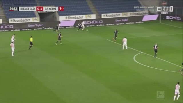 Gole Lewandowskiego przeciwko Arminii Bielefeld