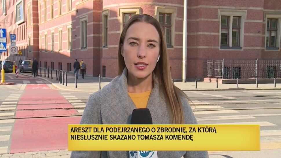Podejrzany o zamordowanie Małgosi trafił do aresztu. Za tę zbrodnię niesłusznie skazany został Komenda