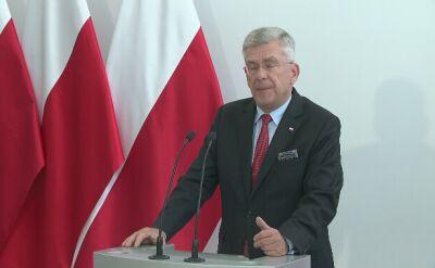 Karczewski: ja jestem politykiem, nie jestem futurologiem, nie wiem, co zrobimy