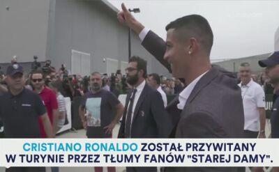 Cristiano Ronaldo dołączył do panteonu gwiazd Juventusu