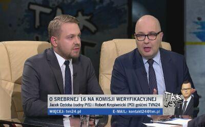 Jacek Ozdoba i Robert Kropiwnicki w Tak Jest