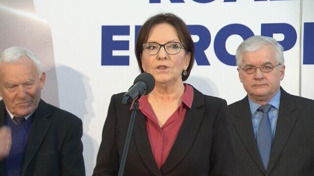 Ewa Kopacz: chcemy odbudować nasz autorytet