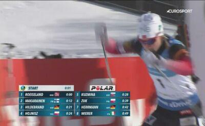 Herrmann najlepsza w biegu pościgowym w Soldier Hollow