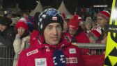 Kamil Stoch po kwalifikacjach do konkursu w Willingen