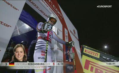 Drugie miejsce Rebensburg w slalomie gigancie