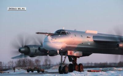 Lot bombowców Tu-95 nad morzami Japońskim i Wschodniochińskim