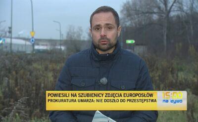 Katowice. Zdjęcia europosłów na szubienicy. Śledztwo umorzone