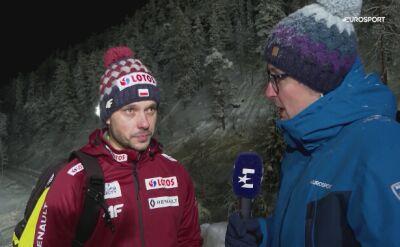 Michal Doleżal po kwalifikacjach w Ruce