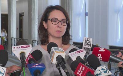 Gasiuk-Pihowicz: PiS nie chce rozwiązać problemu TK