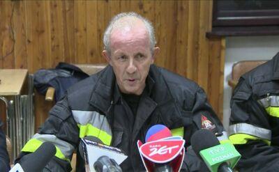 Komendant główny o akcji ratunkowej w Wielkopolsce