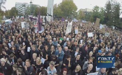 """""""Czarny poniedziałek"""" w całej Polsce"""