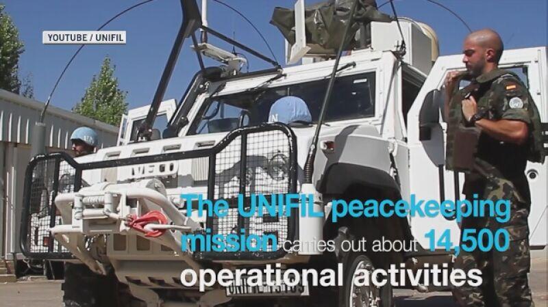 Misja UNIFIL w liczbach (język angielski)