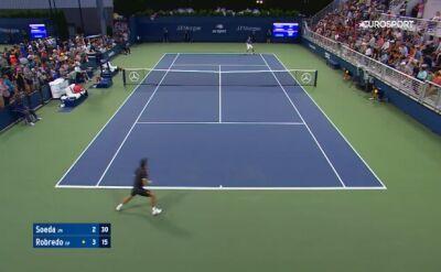 Skrót meczu Soeda - Robredo w pierwszej rundzie kwalifikacji do US Open