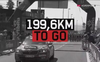 Najważniejsze wydarzenia 2. etapu Vuelta a Espana