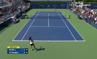 Skrót meczu McHale - Di Giuseppe w pierwszej rundzie kwalifikacji do US Open