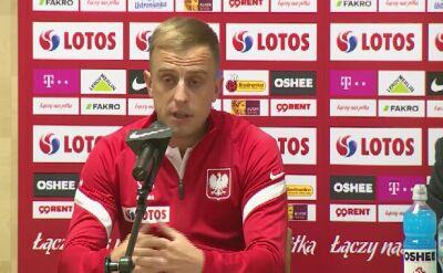 Kamil Grosicki po meczu z Finlandią