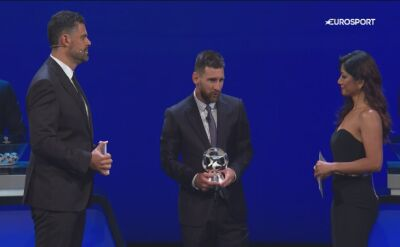 Messi najlepszym napastnikiem w Europie