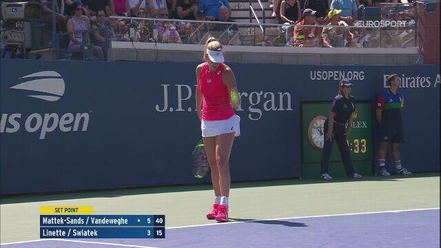 Zwycięstwo Linette i Świątek w 1. rundzie US Open
