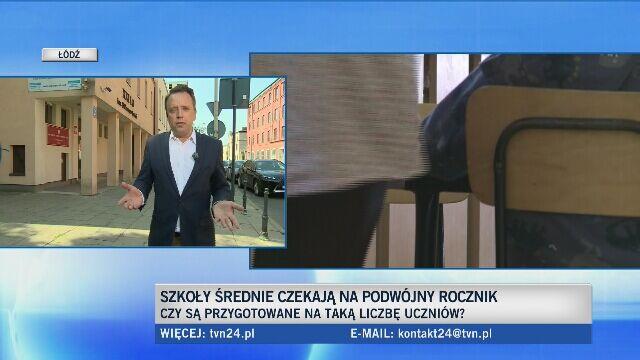 Tylko w Łodzi szkołę średnią zaczyna ponad 10 tys. uczniów