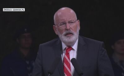 Timmermans na Westerplatte: będziemy walczyć, by Polska pozostała ważnym członkiem UE