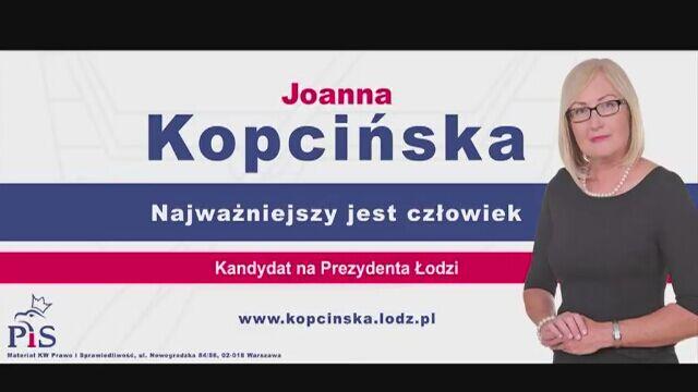Piosenka wyborcza Joanny Kopcińskiej