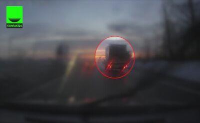Kierowca przejechał na czerwonym
