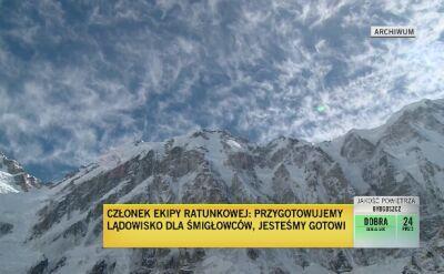"""""""""""Chłopaki są gotowi na dwa, trzy dni samotnego pobytu w górach"""""""
