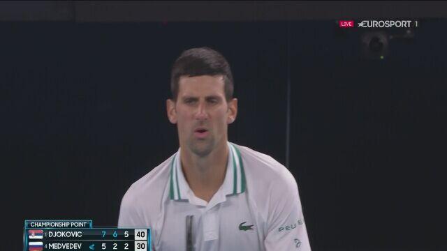 Piłka meczowa. Novak Djoković zwycięzcą Australian Open 2021